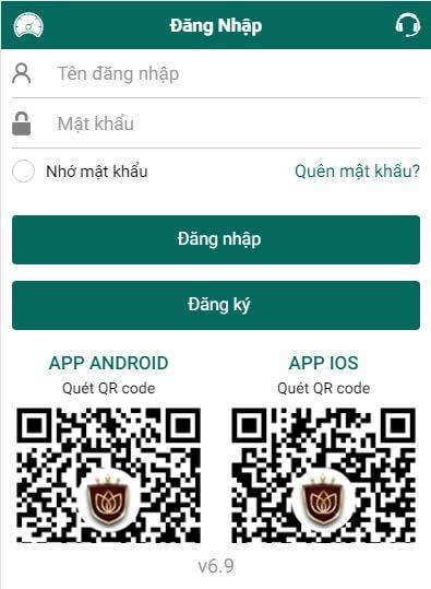dang nhap loto188 điện thoại mobile