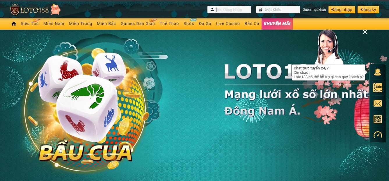 đăng nhập loto188 pc